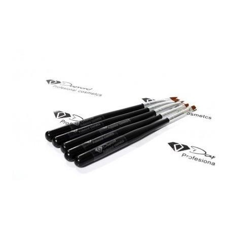 Set Pensule Gel Daymond Nails 5buc