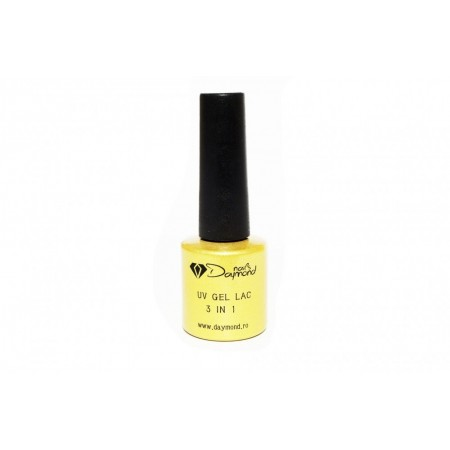 Gel Lac 3in1 Daymond Nails 01 Alb