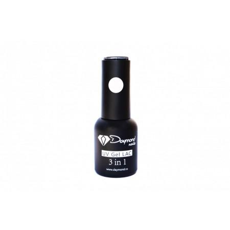 Oja Semipermanenta 3in1 Daymond Nails 01 Alb