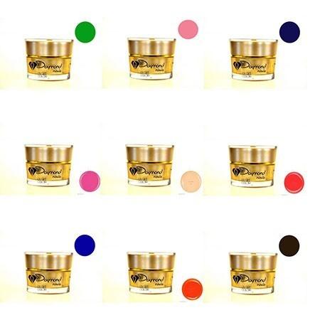 UV Gel color Set Daymond Nails 9 buc