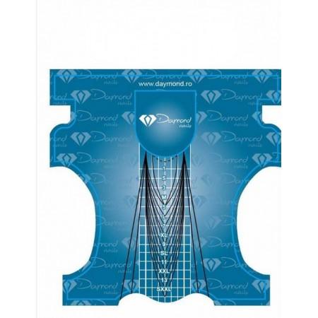 Sabloane Constructie Gel Daymond Clasic Blue