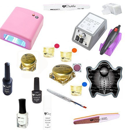 Kit Unghii Gel Daymond Nails Nr.06