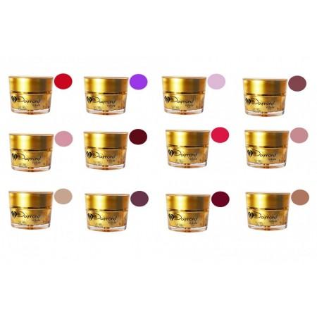 Kit gel color Daymond Nails 12 Plus