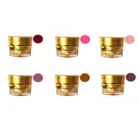 Kit gel color Daymond Nails 6 pro