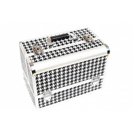 Geanta Cosmetica Black & White