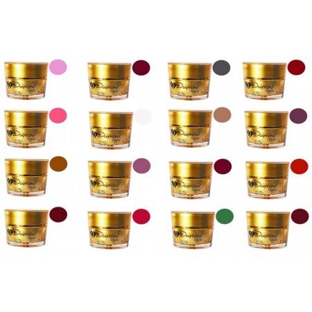 Kit gel color Daymond Nails 16