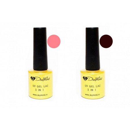 Set Oja Semipermanenta Daymond Nails 02