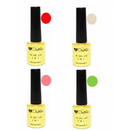 Set Oja Semipermanenta Daymond Nails 04
