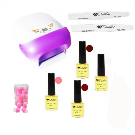 Kit Oja Semipermanenta Daymond Nails Nr 06