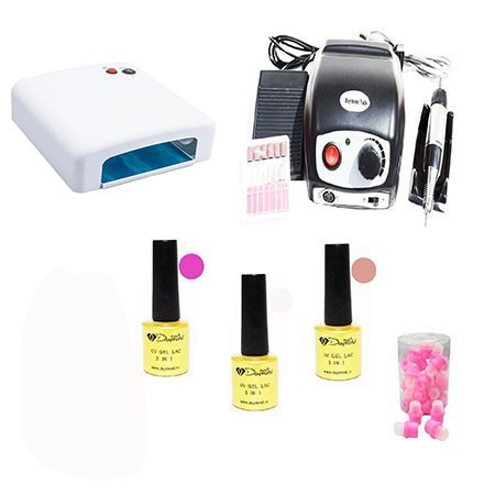 Kit Oja Semipermanenta Daymond Nails Nr 08